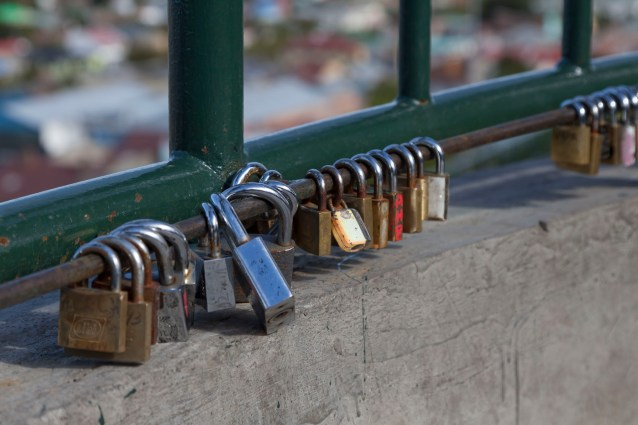 Locks On Railings
