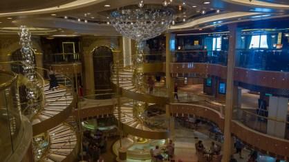 Royal Princess Cruise Ship Piazza