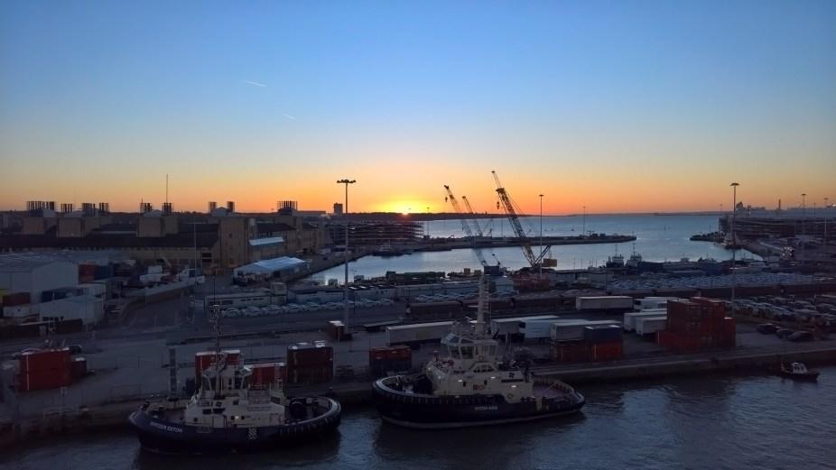 Southampton Sunrise From Ventura
