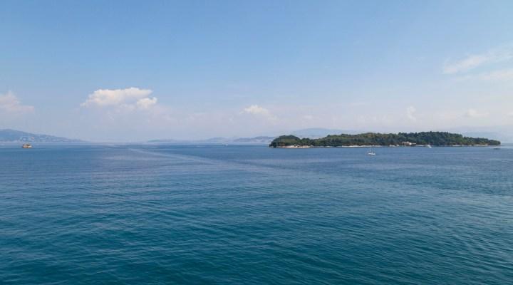 Corfu From Royal Princess
