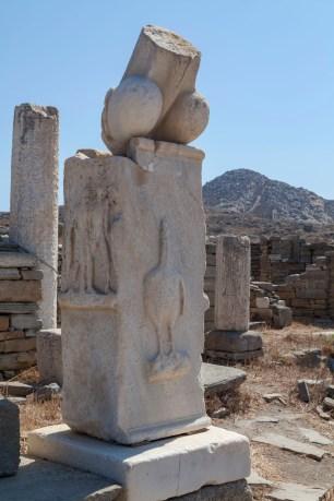 Delos Phallus, Stoibadeion