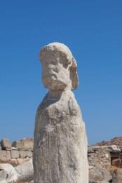 Delos Statue