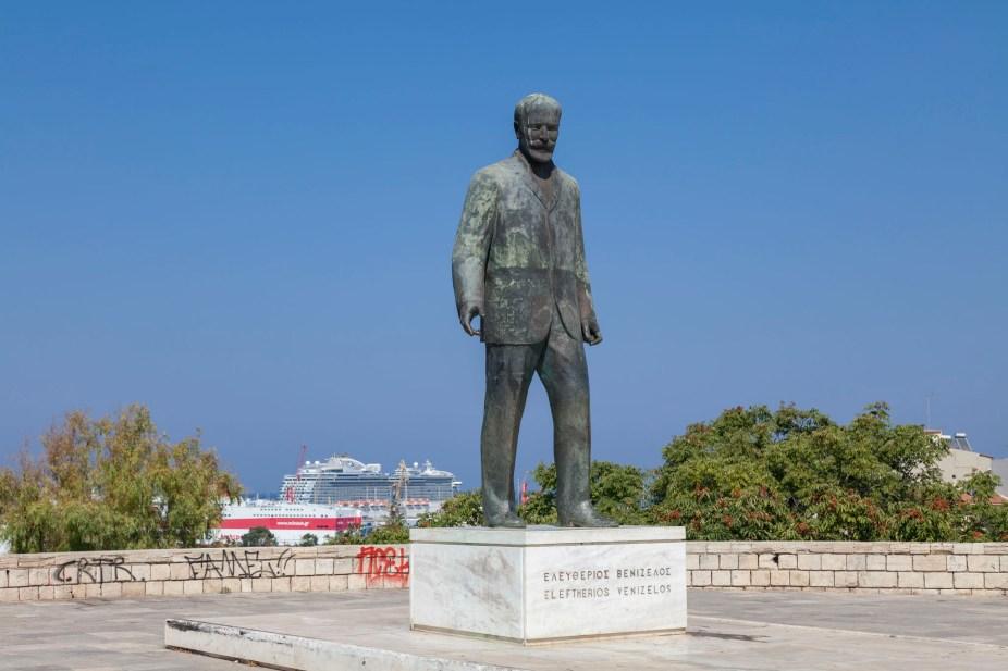 Heraklion Statue