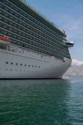 Royal Princess Cruise Ship, Kotor