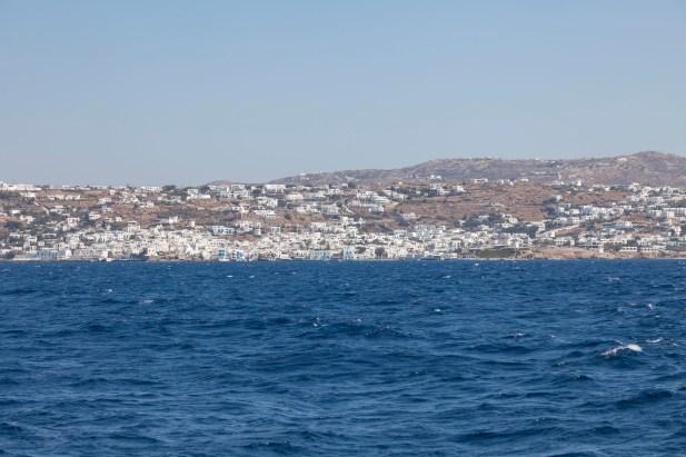 Boat From Delos To Mykonos