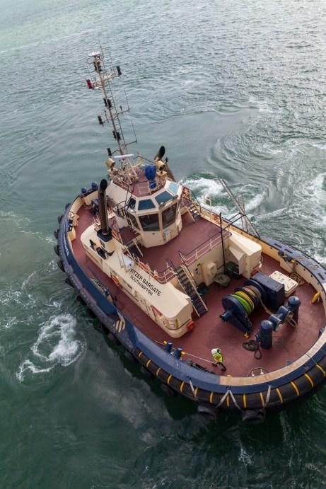 Svitzer Bargate Tug