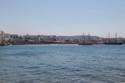 Mykonos Town Port Area