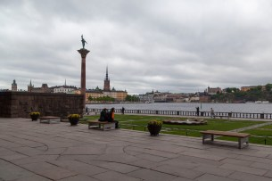 Stockholm From Outside City Hall
