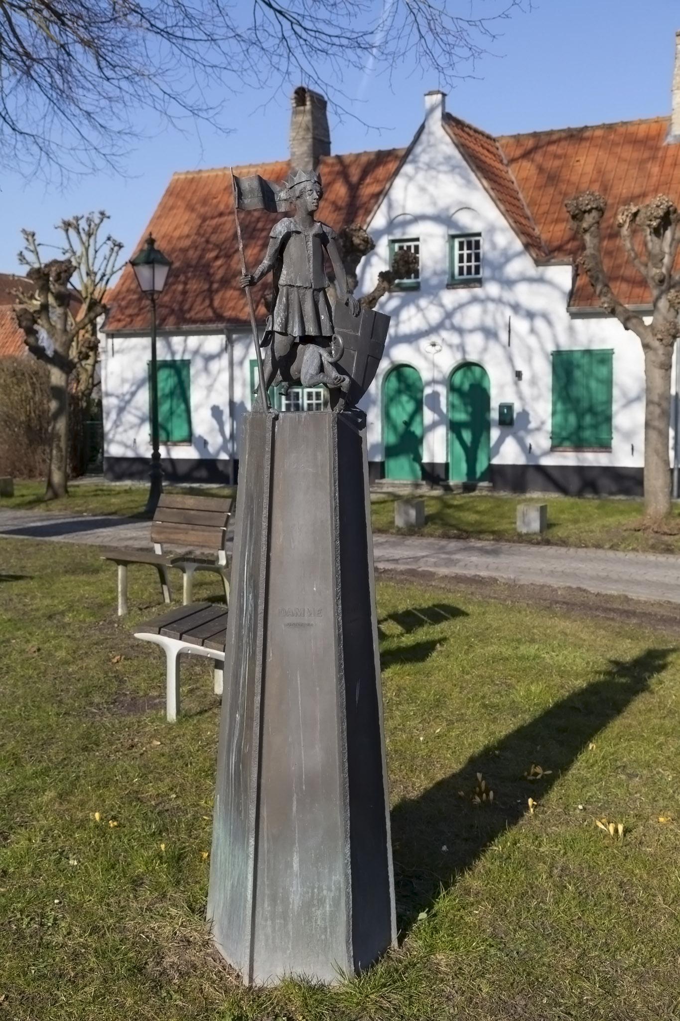 Herring Market Statue, Damme