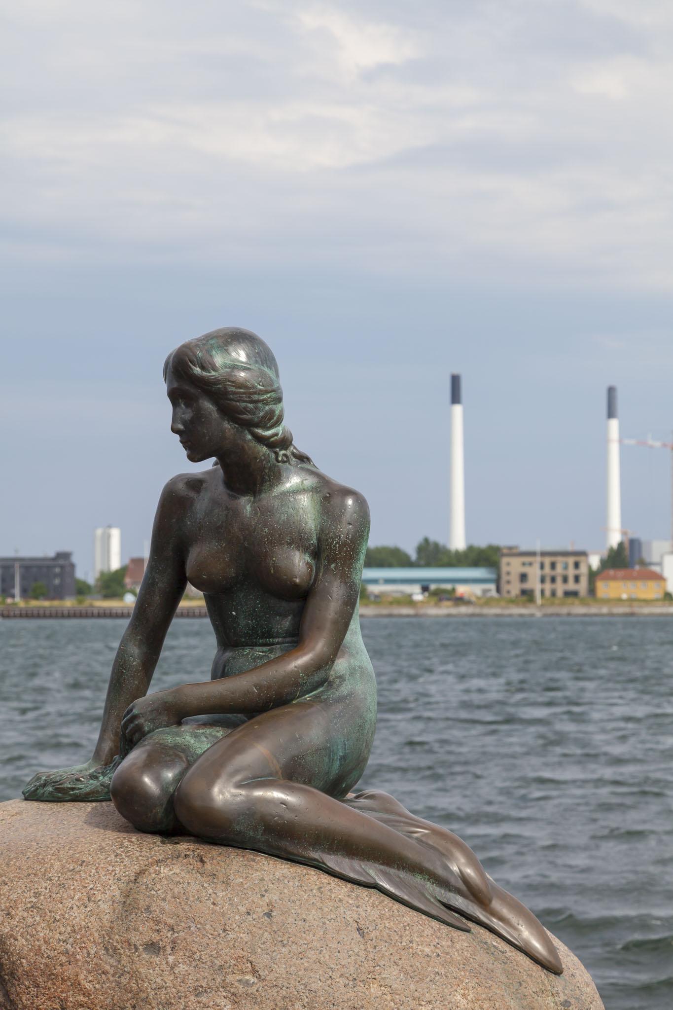 Little Mermaid Statue