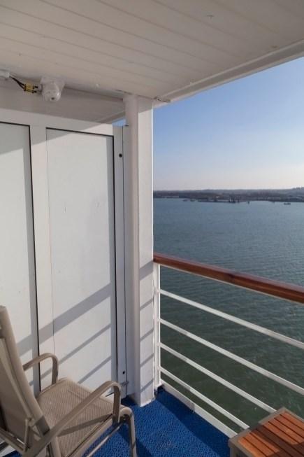 Oriana Cabin B127 Balcony