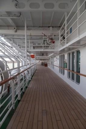 Oriana Promenade Deck