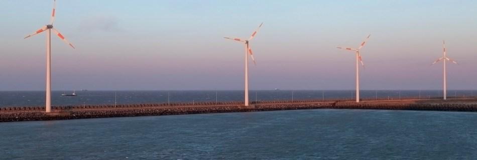Departing Zeebrugge