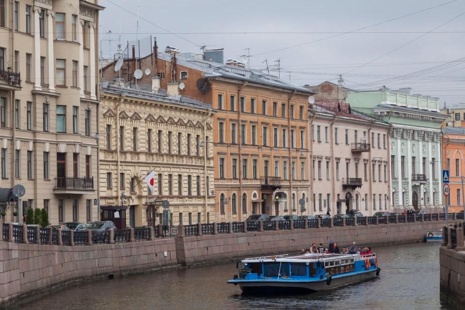Moyka River Boat, Saint Petersburg