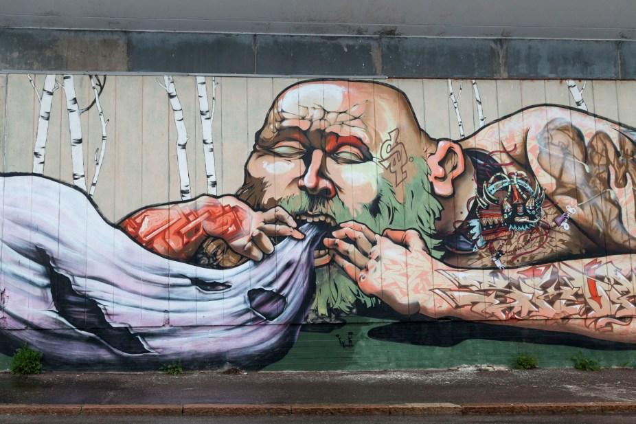 Helsinki Port Street Art