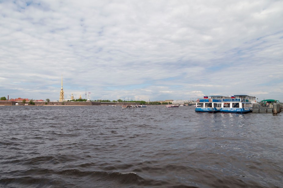River Boat Ride, Saint Petersburg