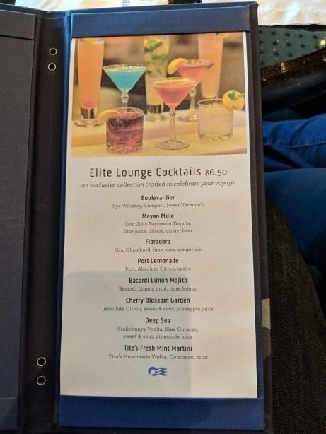 Elite Lounge Cocktails