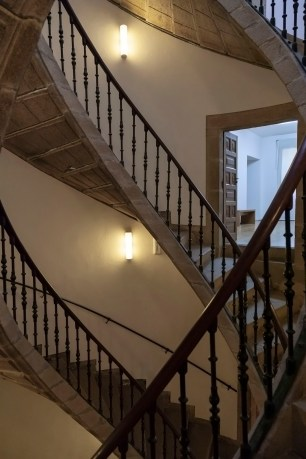 Triple Helix Staircase