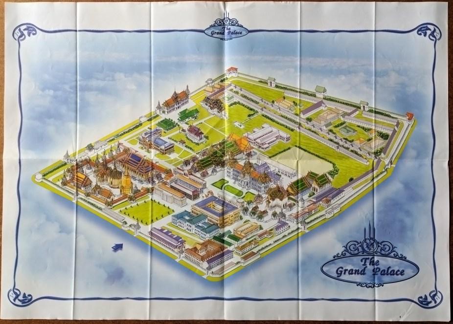 Bangkok Grand Palace Map