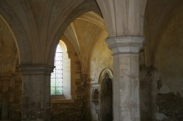 Inside Lacock Abbey