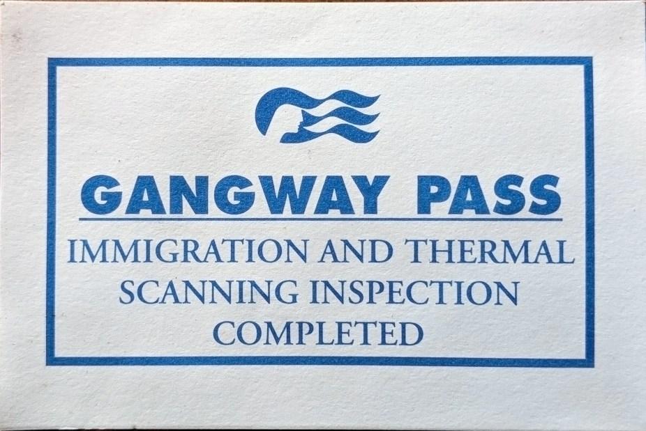 Gangway Pass