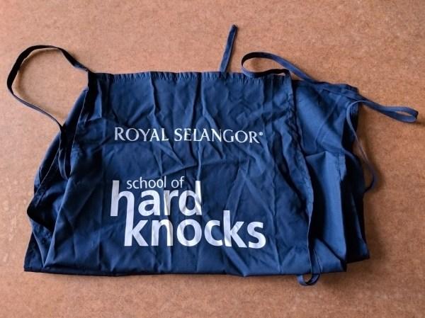 Royal Selangor School Of Hard Knocks Apron
