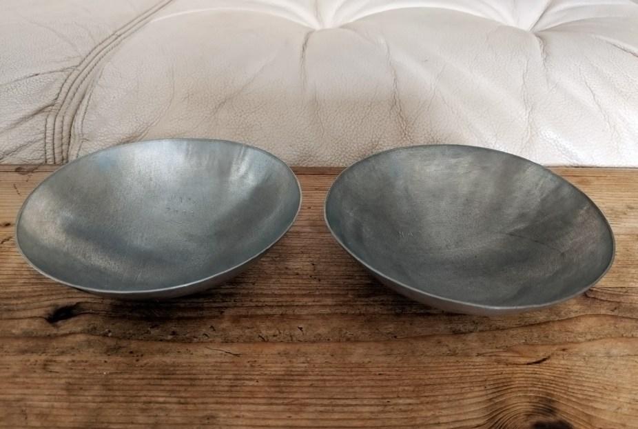 Handmade Pewter Bowls