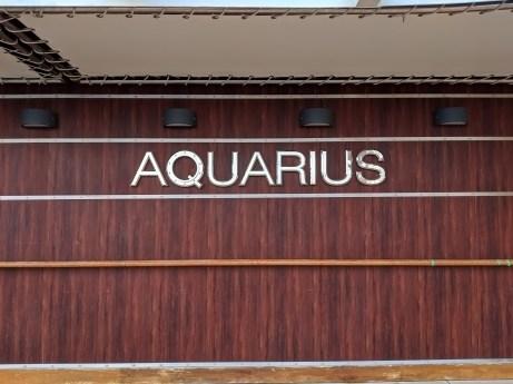 Aquarius Pool Sign