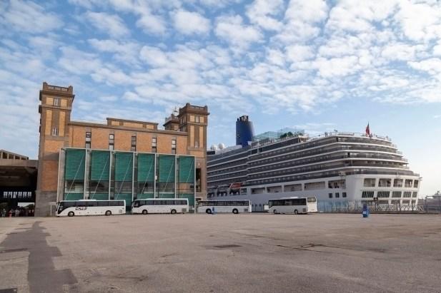 Cherbourg Port, Arcadia