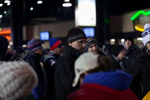 Gillette Stadium Fans