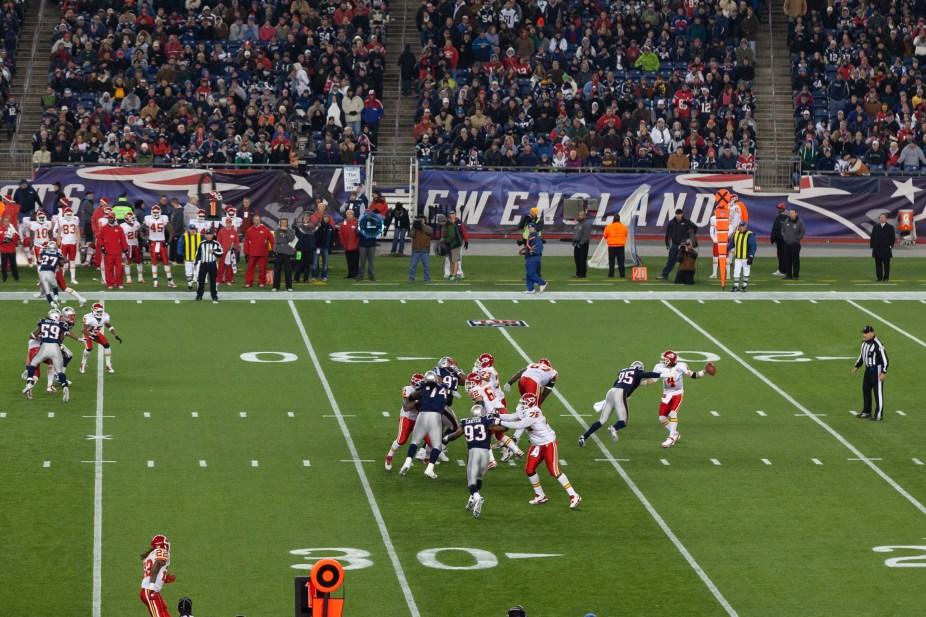 Gillette Stadium 2011, Patriots vs Chiefs