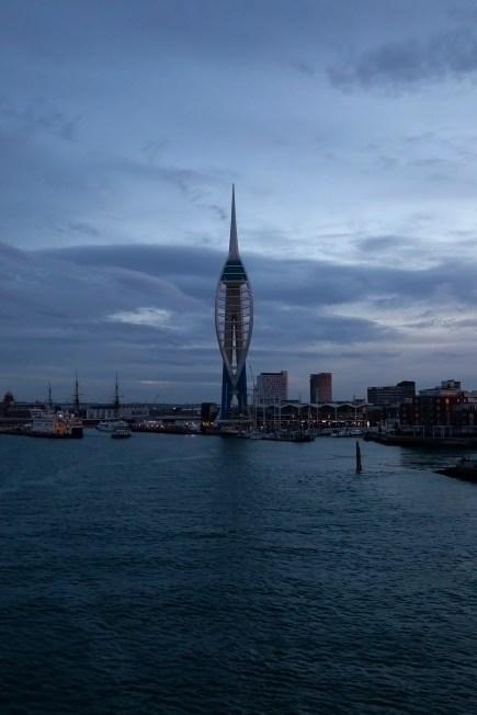 Spinnaker Tower, Dawn