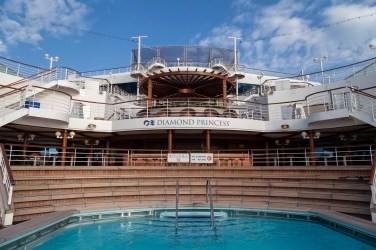 Diamond Princess Aft Pool