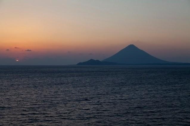 Kaimondake Volcano, Japan