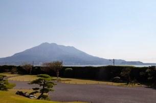 Sakurajima From Sengan-en