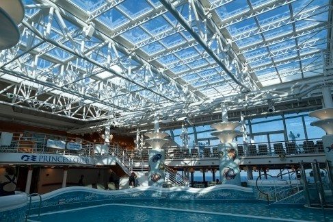 Diamond Princess Indoor Pool