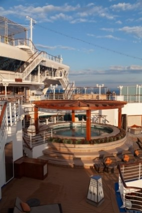Diamond Princess, Japanese Spa Pool
