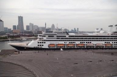 Yokohama Port, HAL Amsterdam