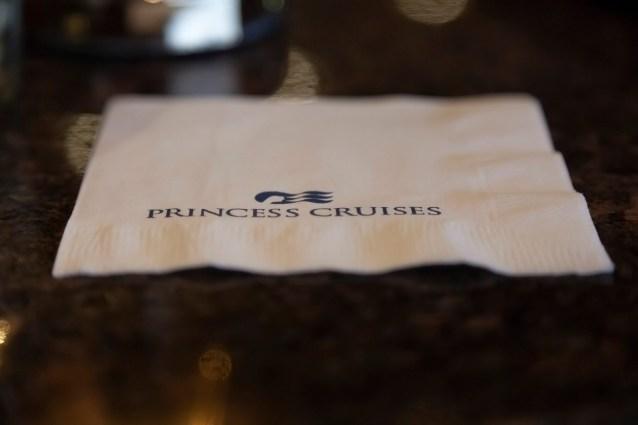 Princess Cruises Napkin