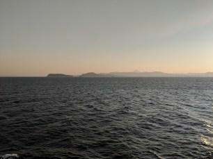 Cruising Out Of Kagoshima, Japan