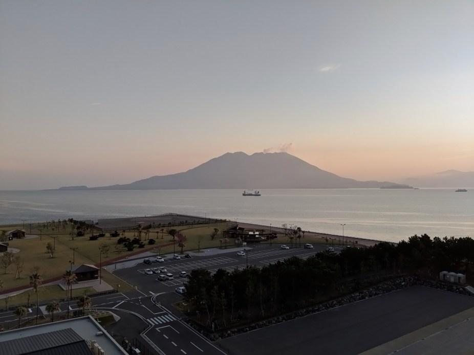 Sakurajima From Diamond Princess