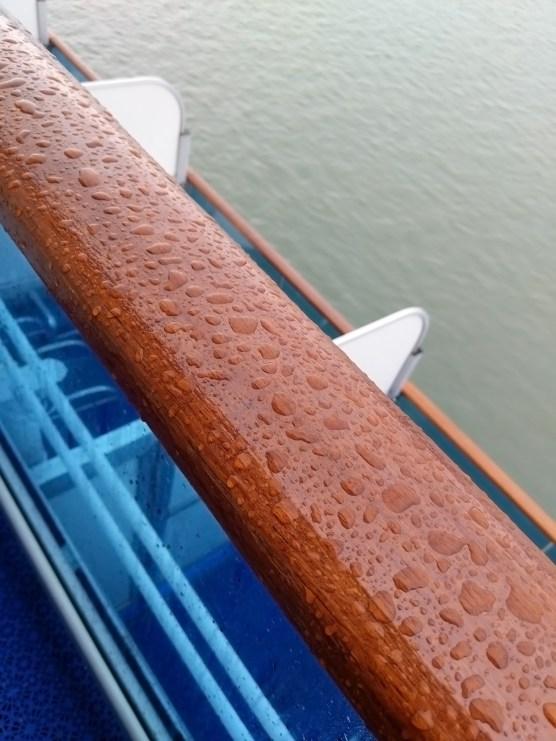 Rain On Balcony