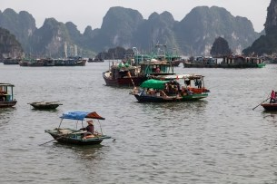 Boats, Ha Long Bay