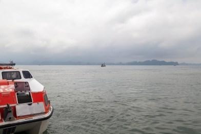 Tender Boat, Ha Long Bay