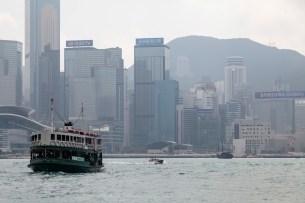 Star Ferry To Hong Kong Island