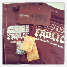 Chocoholic Frolic Swag