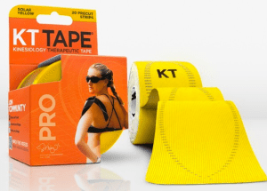 KT Tape in Solar Yellow