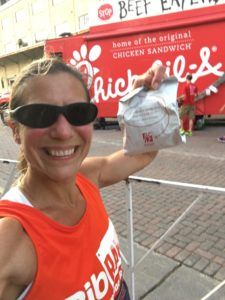 Chick-Fil-A for everyone at the #Torchlight5K