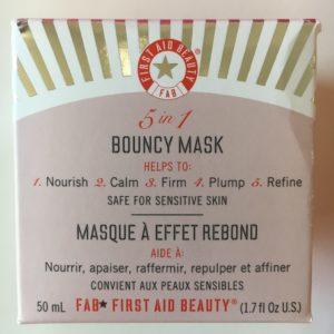 5 in 1 Bouncy Mask by First Aid Beauty