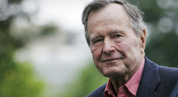 the former president of the untied states george h w bush was implicated in the franklin cover up